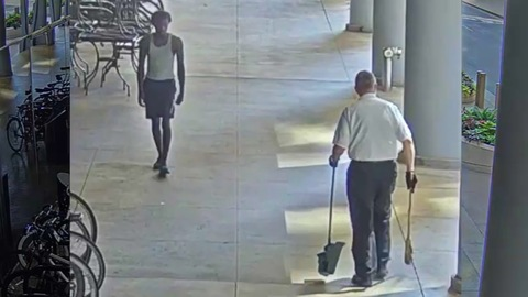 Senior Sweeping a Sidewalk in Chicago Is Sucker Punched in Unprovoked Assault