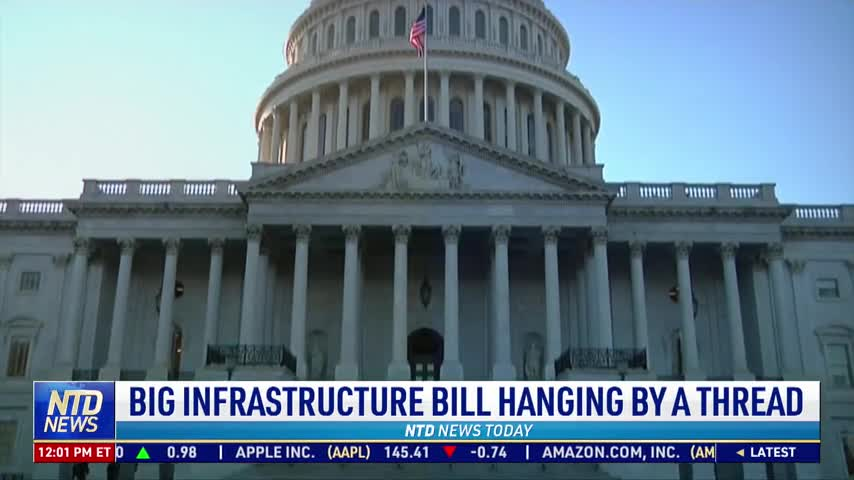 Big Infrastructure Bill Hanging by a Thread