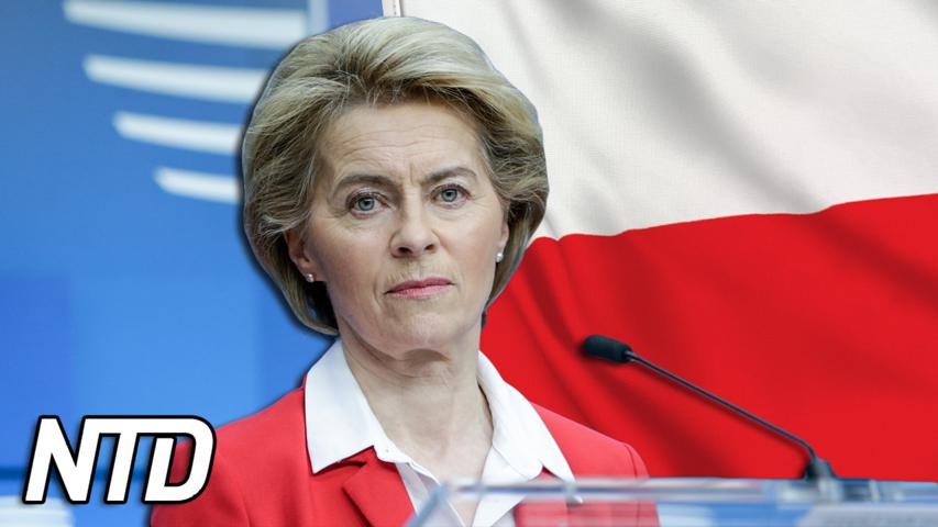 EU:s ledare sätter press på Polen när det gäller rättsstatsprincipen | NTD NYHETER