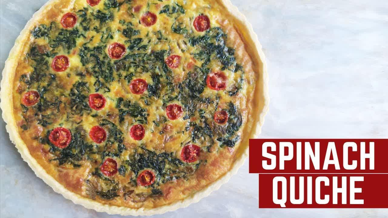 Spinach and Cheese Quiche Recipe   Mamagician
