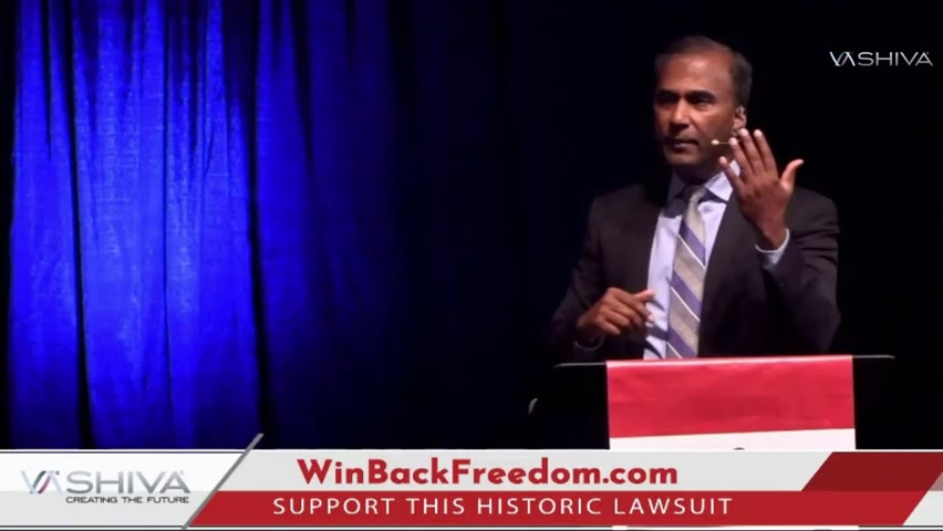 Dr.SHIVA BROADCAST:  Why Did Thousands of REAL PATRIOTS Give TWO STANDING OVATIONS to an MIT PhD?