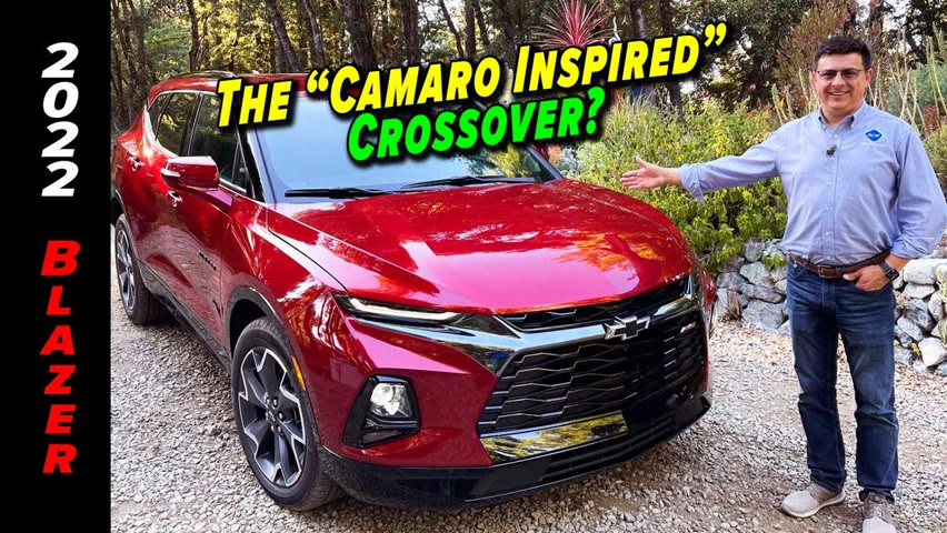 Chevy's Midsize Crossover Is A Solid, If Not Exciting Crossover    2022 Chevrolet Blazer RS