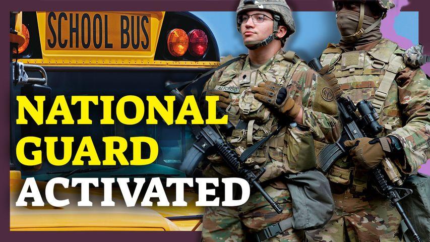 Massachusetts Activates National Guard Amid Bus Driver Shortage; 27 States Oppose Biden's Mandates