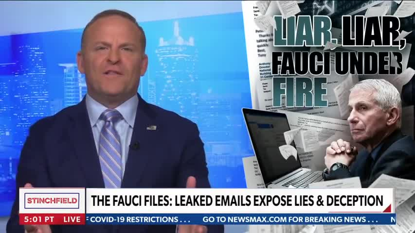 Liar, liar, Fauci under fire   Grant Stinchfield