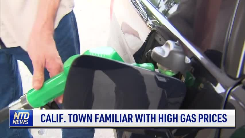 California Town Familiar With High Gas Prices