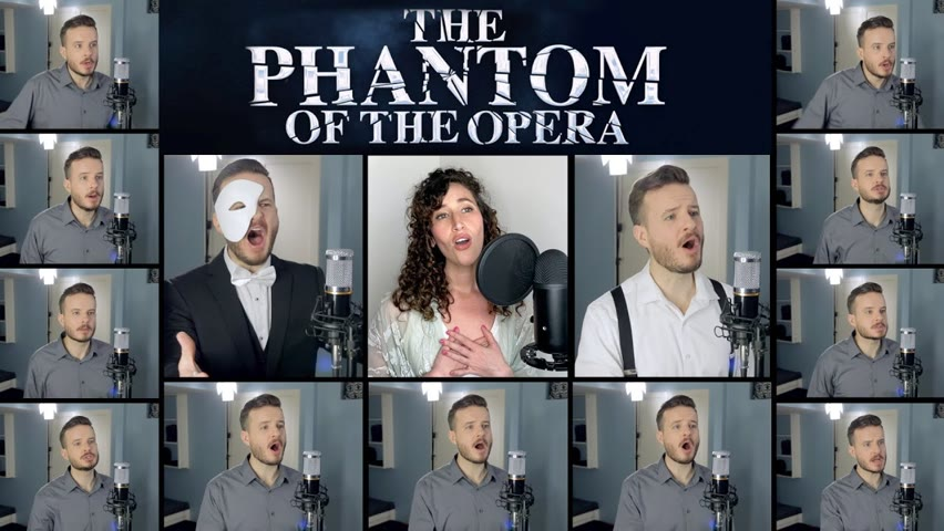 Phantom of the Opera Medley (ACAPELLA) - Jared Halley feat Lauren Paley