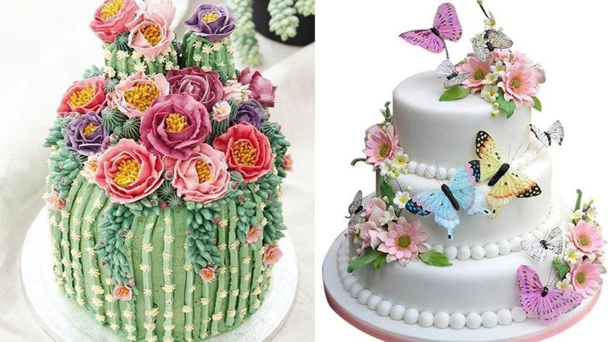 Stunning Cake Decorating Technique Like A Pro | Amazing Creative Cake Decorating Ideas for Beginner