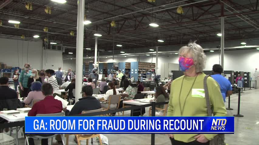 GEORGIA: ROOM FOR FRAUD DURING RECOUNT