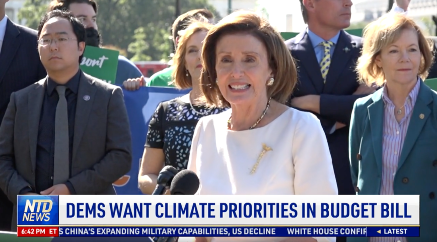 Democrats Want Climate Priorities in Budget Bill