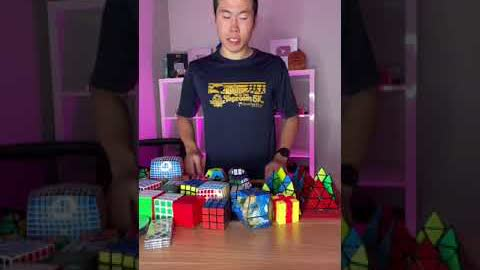 50 Rubik's Cube WORLD RECORD!