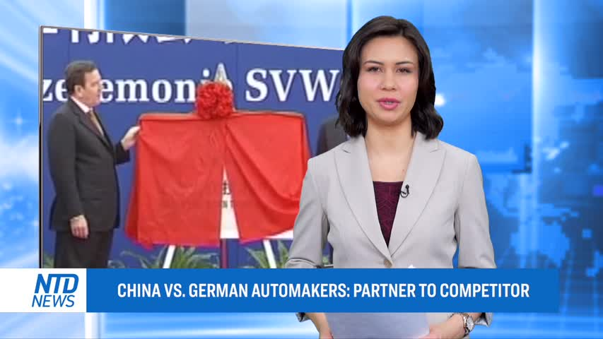 CHINA VS. GERMAN AUTOMAKERS: PARTNER TO COMPETITOR