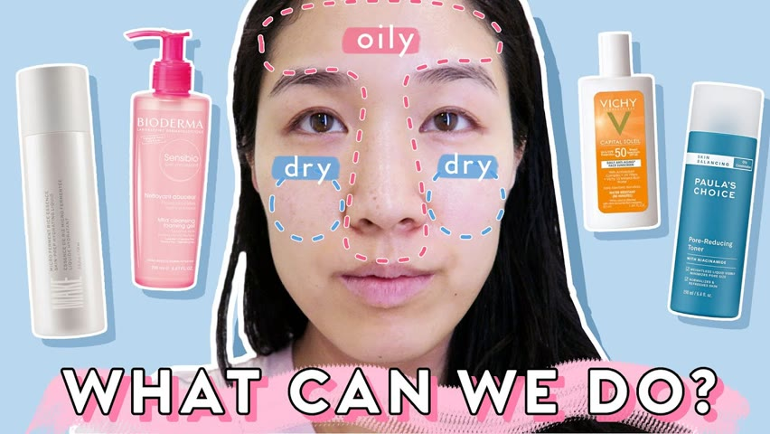 Routine Tips to Balance ~confusing~ COMBO Skin: Is it oily/dry/dehydrated?!