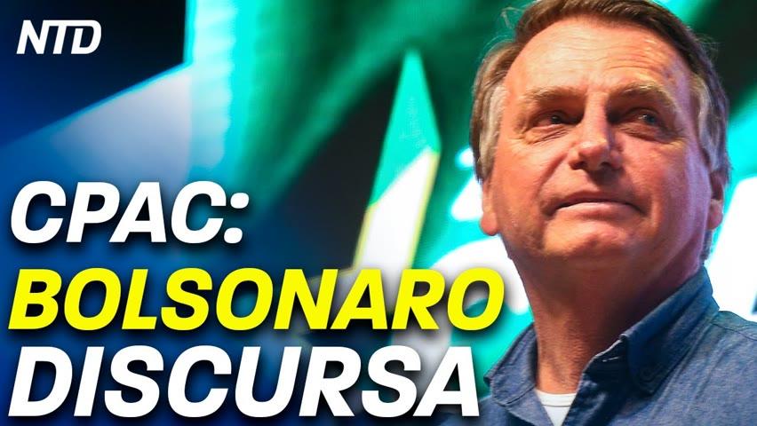 Bolsonaro convida STF para 7 de setembro; Destaques da fala na CPAC 2021