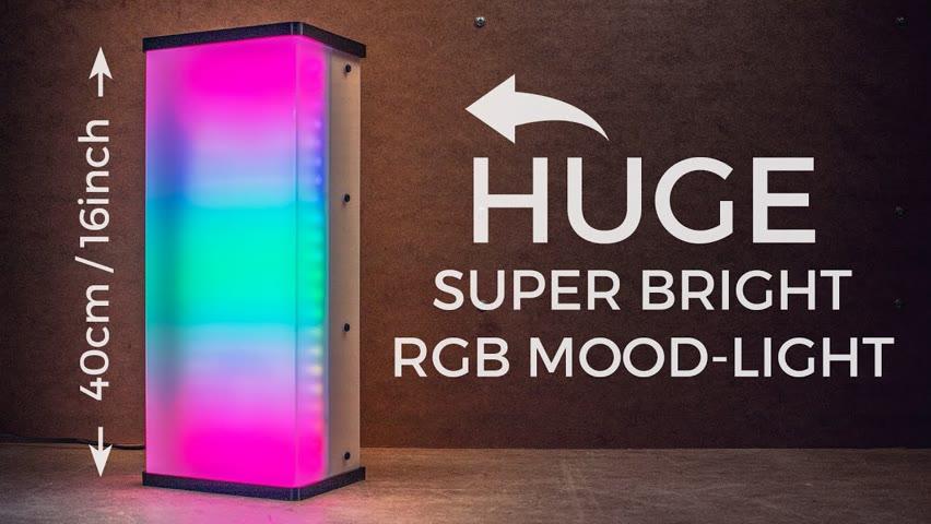 Making Super-Bright RGB Bluetooth Mood-Light 💡