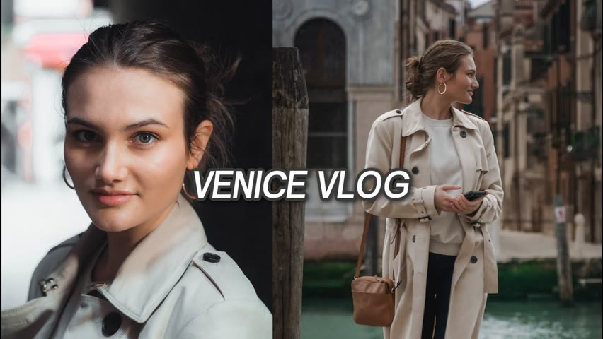 Conquering my fear of being photographed, in VENICE 📸     Weekend reading vlog