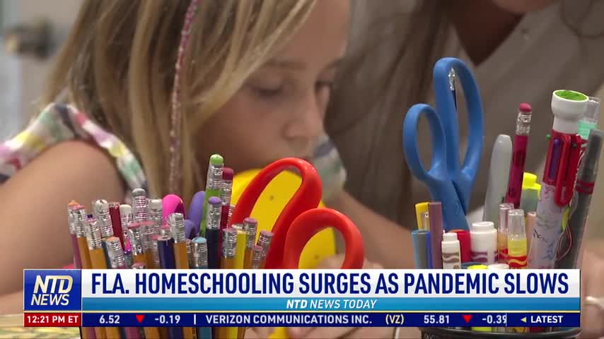 Florida Homeschooling Surges as Pandemic Slows