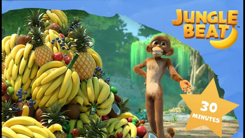 Fruity Compilation | Jungle Beat - Munki and Trunk | VIDEOS and CARTOONS FOR KIDS 2021
