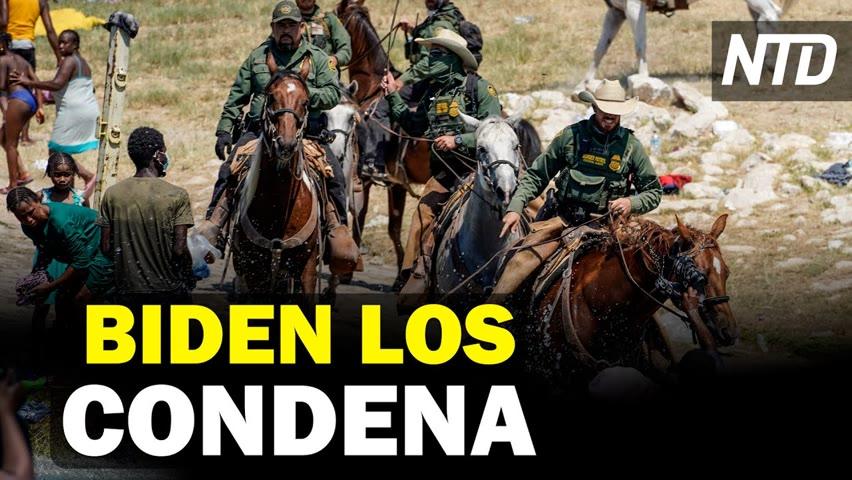Biden condena a agentes de la CBP; Bolsonaro habla de ministro que dio positivo a Covid | NTD