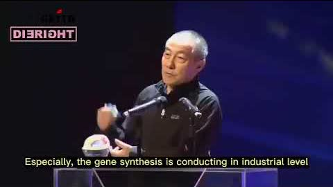 #華大生命科學及基因工程組主任 #王健 2017年的講話「基因編輯創造生命勢不可擋,未來戰爭超越了核武器而是活的武器。」