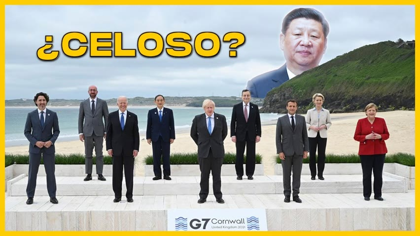 Lo que nos dejó la cumbre del G7: China en la mira | Caricatura se burla del mundo libre