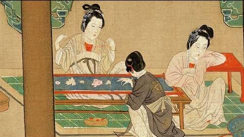 中國華服裡的藝術--刺繡女紅 | 中國服飾 章服制度 | 刺繡 女紅 | 傳統文化 | 四大名繡  蘇繡  | 馨香雅句65期