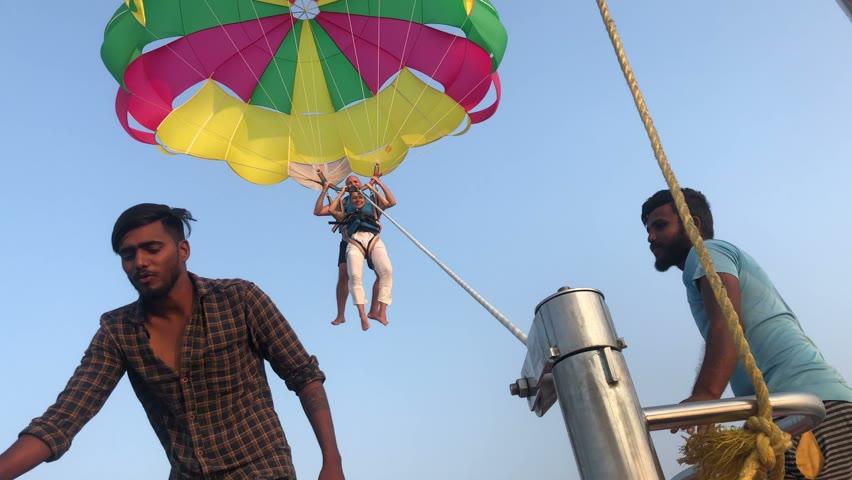 Parachute in Udupi