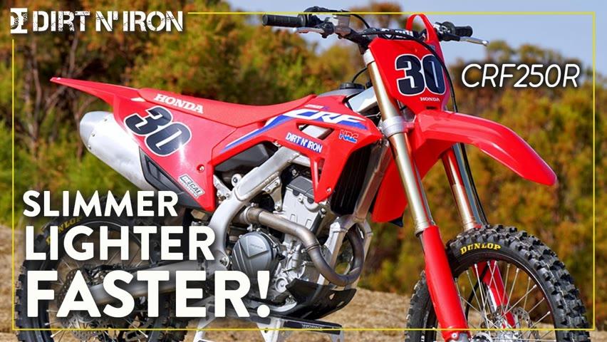 2022 Honda CRF250R First Ride - Weekend Warrior Edition