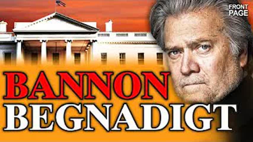 Bannon begnadigt; Biden spricht von Tod; Texas will Klage gegen Biden-Administration erheben