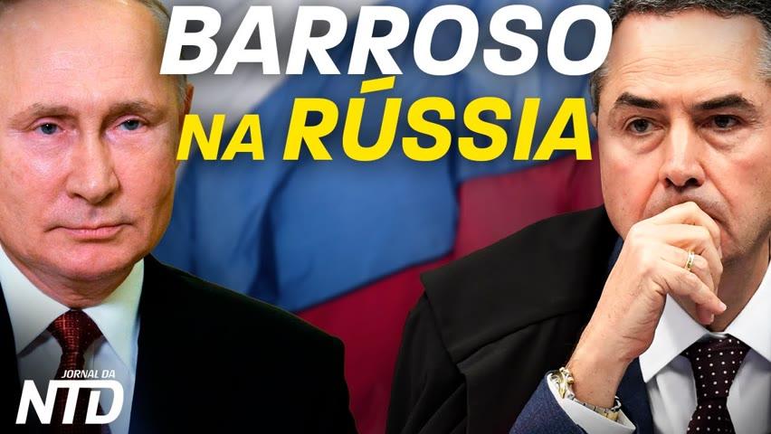 Rio e SP: passaporte sanitário; Colômbia: casamento a partir dos 14; Barroso observa eleições russas 2021-09-18 17:47