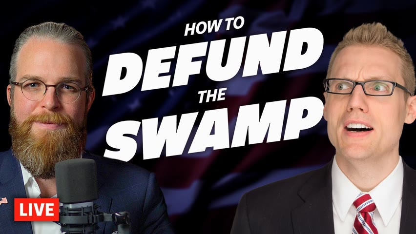 LIVE with Clay Clark: How to Defund the Swamp and Rebuild the Kingdom