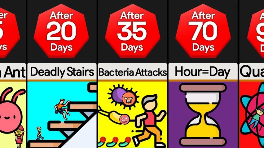 Timeline: What If You Kept Shrinking Forever