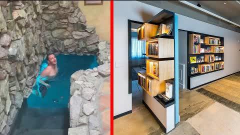 FANTASTIC HIDDEN Rooms AND INGENIOUS SECRET Furniture ▶8