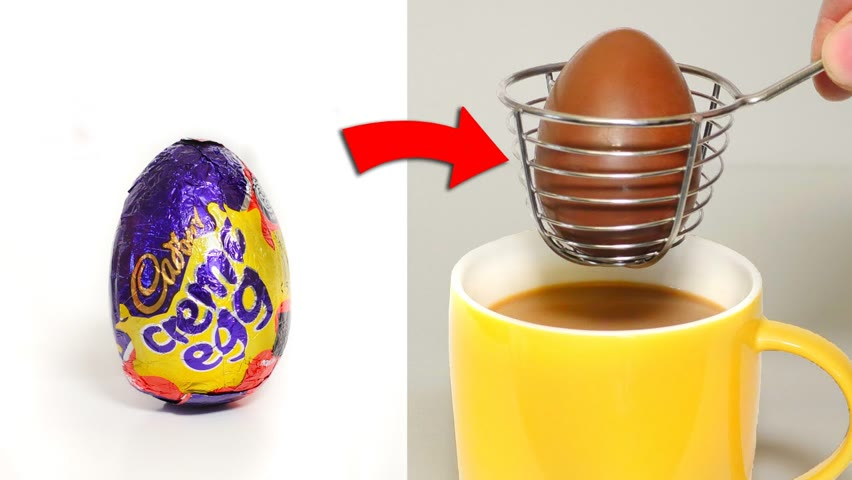 I Cooked with Chocolate Easter Eggs!