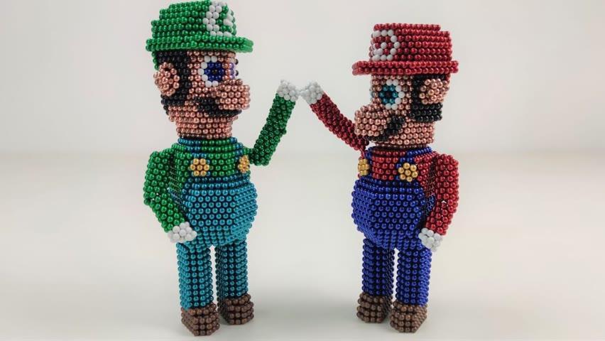 Super Mario Bros   Magnetic Games