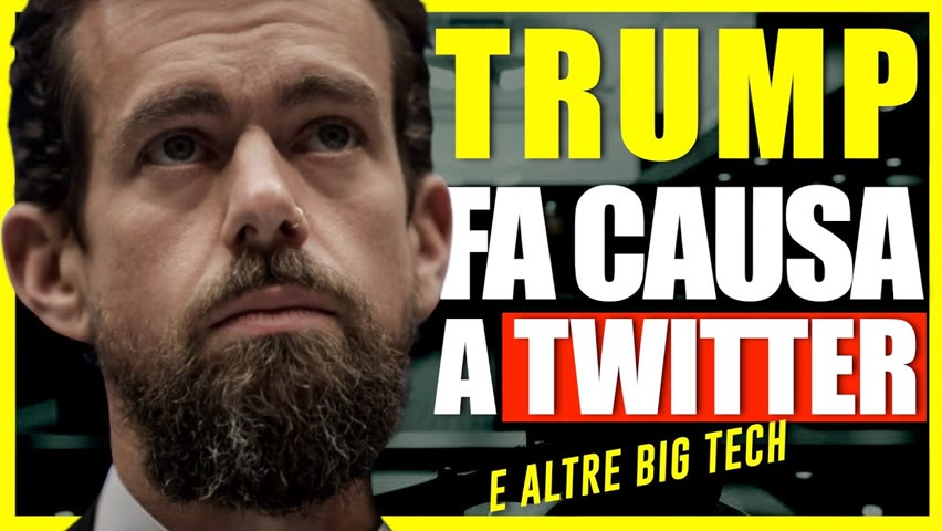 Trump annuncia una grande class action contro Twitter, Facebook e Google | Facts Matter Italia