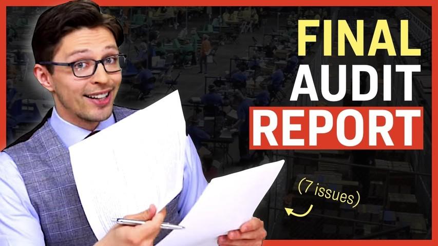 Interview with AZ Senate President; Final Audit Report Analysis