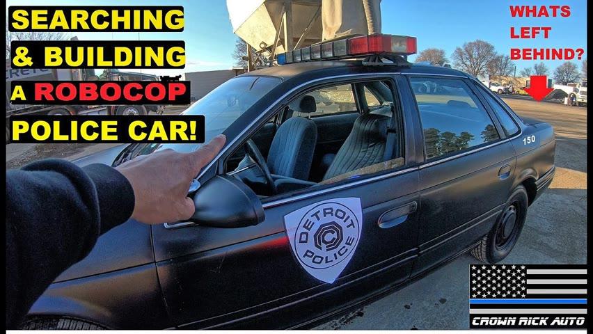 Searching & Building a Robocop Police Car!