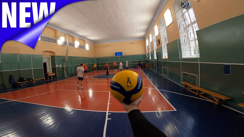 🏐 Волейбол от первого лица | VOLLEYBALL FIRST PERSON | Best games | 132 episode