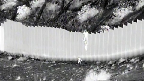 Smuggler Allegedly Drops 2 Young Sisters Over 14-Foot Border Barrier