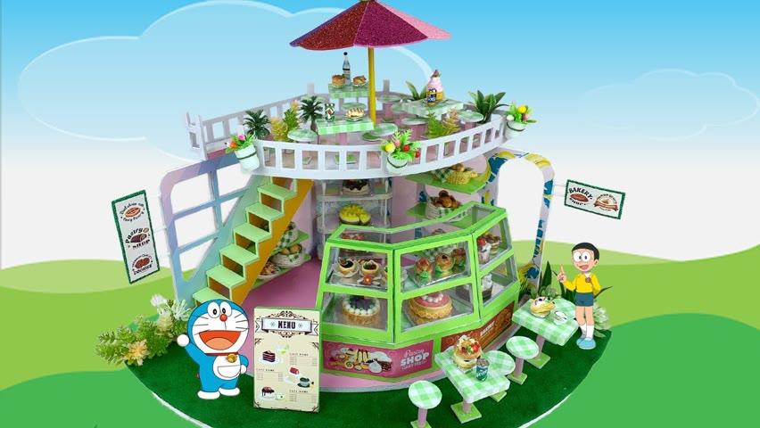 DIY Miniature Bakery House   DIY Miniature House   Cocokid Corner