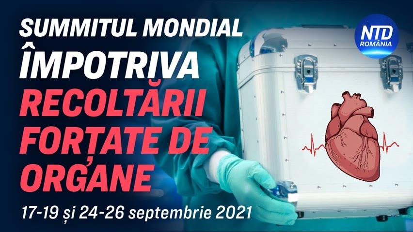 Summitul Mondial Împotriva Recoltării Forțate de Organe - o alarmă pentru omenire | NTD România