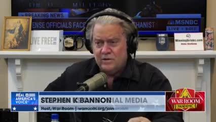 Bannon: Show Us The Plan!