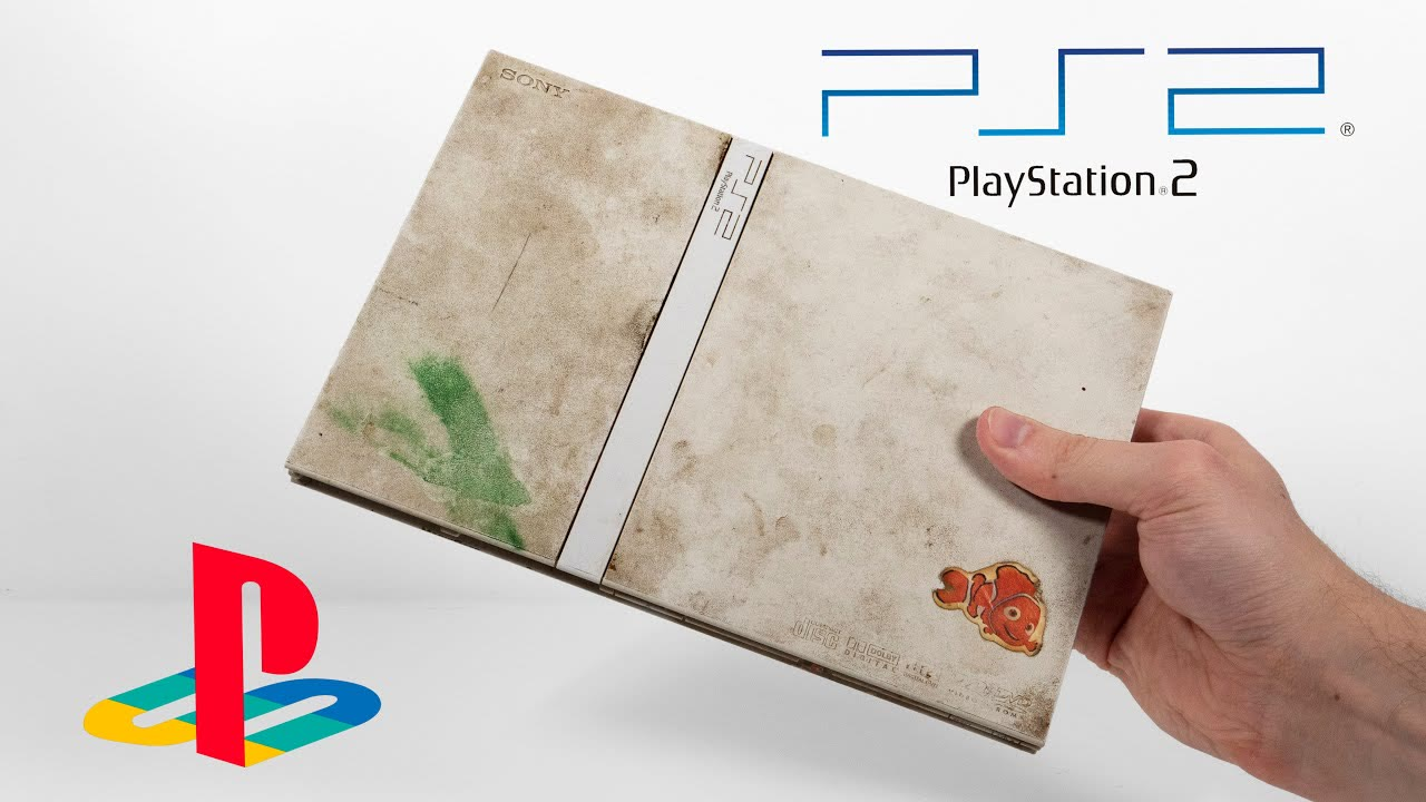 I restored this $7 Junk Playstation 2 Slim - Retro Console Restoration & Repair