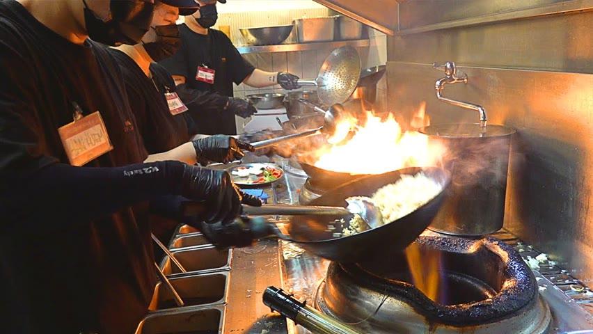 오픈4개월에 월매출2억?! 줄서서먹는 아메리칸 스타일 중식당 American style Chinese Restaurant - Korean street food