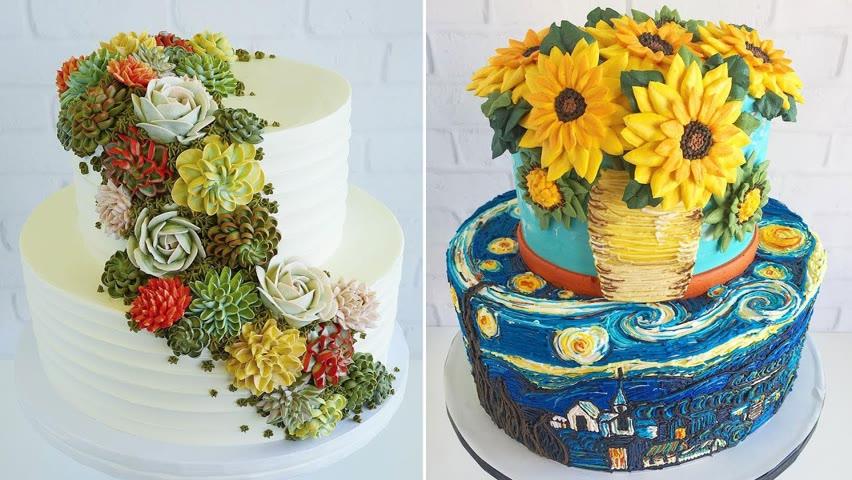 Satisfying Cake Decorating Ideas Tutorials | So Yummy Cake Recipes | Cake Design