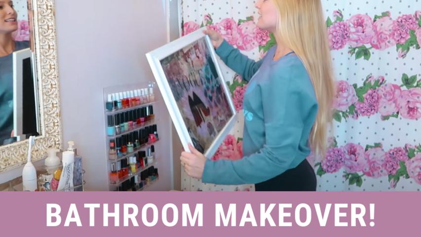 Bathroom Makeover!