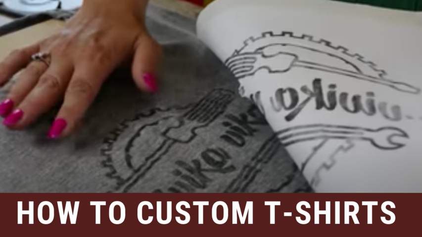 How to Custom T-Shirts