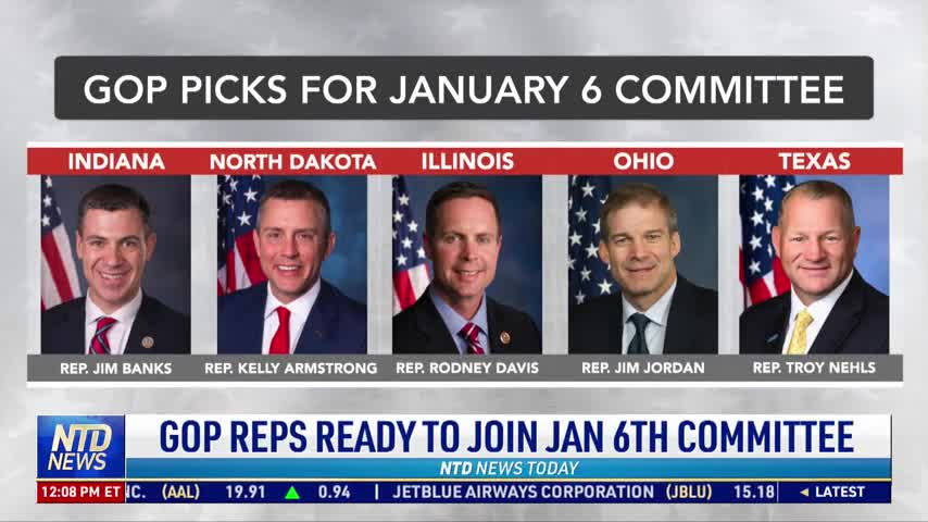 GOP Representatives Ready to Join Jan. 6 Committee