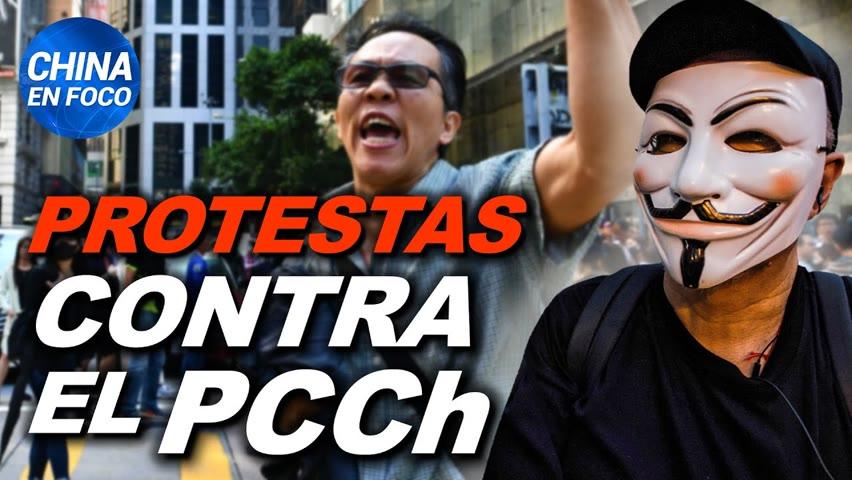 Se desatan protestas contra el régimen comunista chino. China ataca a ministro de Taiwán