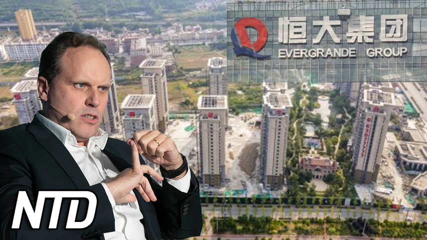 Osäkert öde för Kinas Evergrande | NTD NYHETER